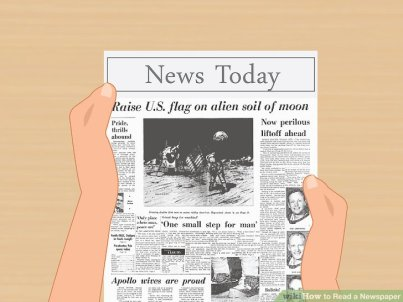 a newspaper allows students to write on events and political and social issues for an audience