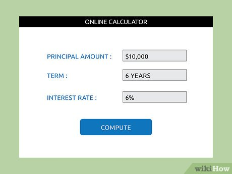 Car loan interest calculator