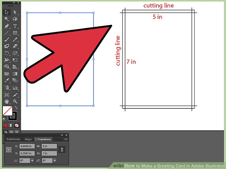 How To Make A Greeting Card In Adobe Illustrator 12 Steps