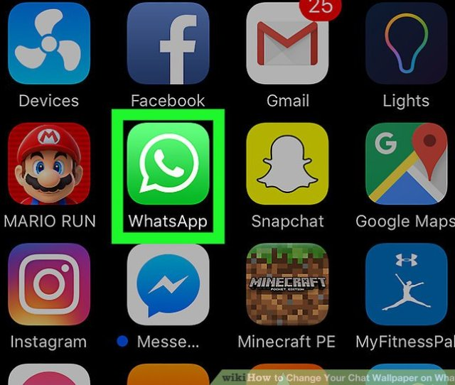 Image Titled Change Your Chat Wallpaper On Whatsapp Step 9