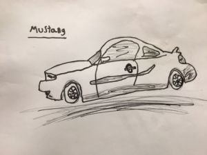 How to Draw a Ford Mustang: 9 Steps (with Pictures)  wikiHow