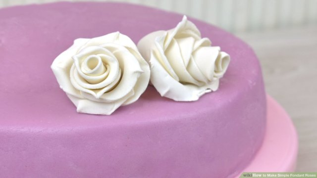 How to Make Simple Fondant Roses