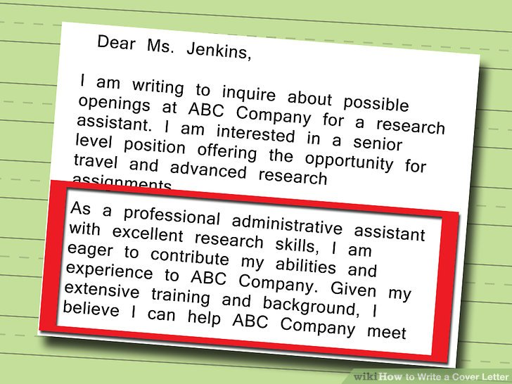 Cover Letter To Inquire About Job Openings The Best Letter 2017