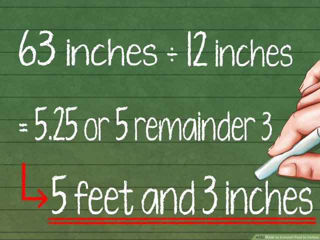 How to Convert Feet to Inches: 16 Steps (with Pictures) - wikiHow