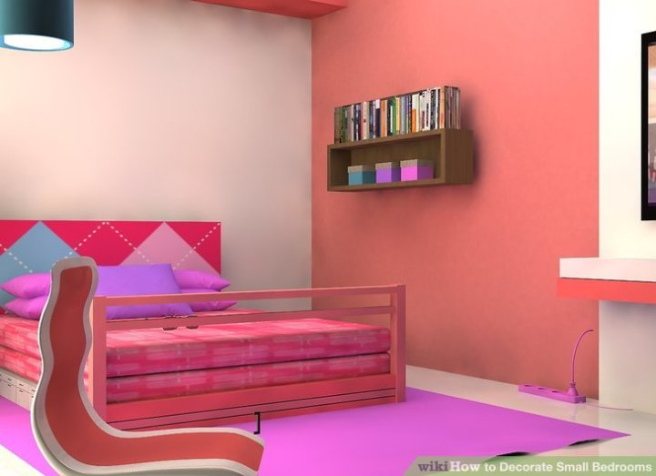image titled decorate small. How To Decorate Small Bedrooms With Pictures Wikihow Image Titled
