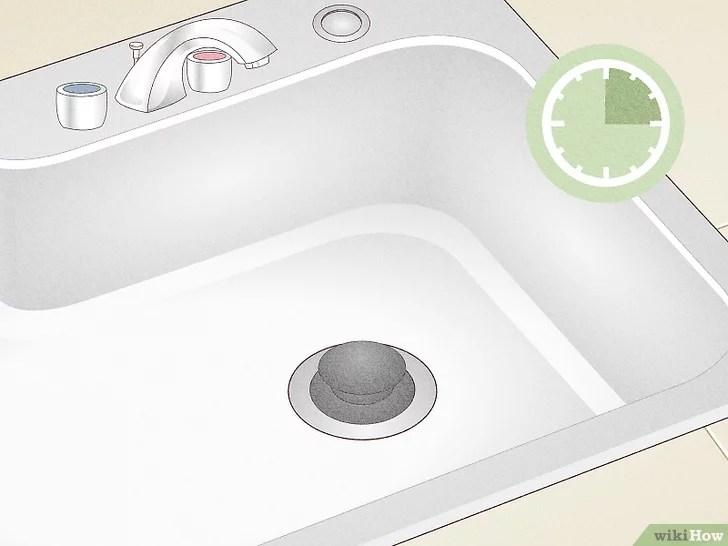 Imagem intitulada Unclog a Slow Running Bathroom Sink Drain Step 6