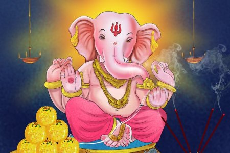 How to Worship and Pray to the Hindu God Ganesh   wikiHow Image titled Pray to the Hindu God Ganesh Step 3