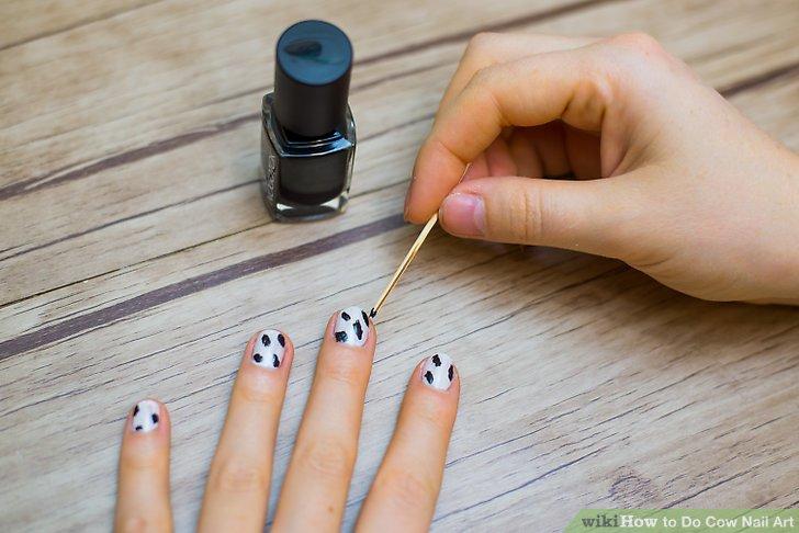 Image Led Do Cow Nail Art Step 4