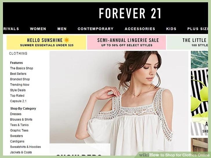 Image titled Shop for Clothes Online Step 11
