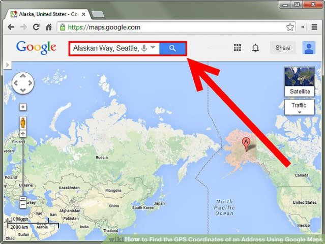 How to Find the GPS Coordinates of an Address Using Google Maps Image titled Find the GPS Coordinates of an Address Using Google Maps Step 1
