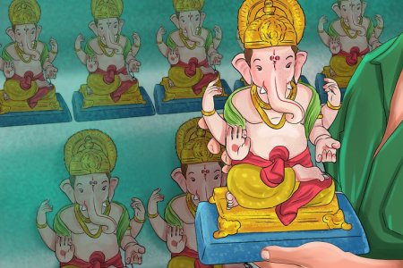 How to Worship and Pray to the Hindu God Ganesh   wikiHow Image titled Pray to the Hindu God Ganesh Step 2