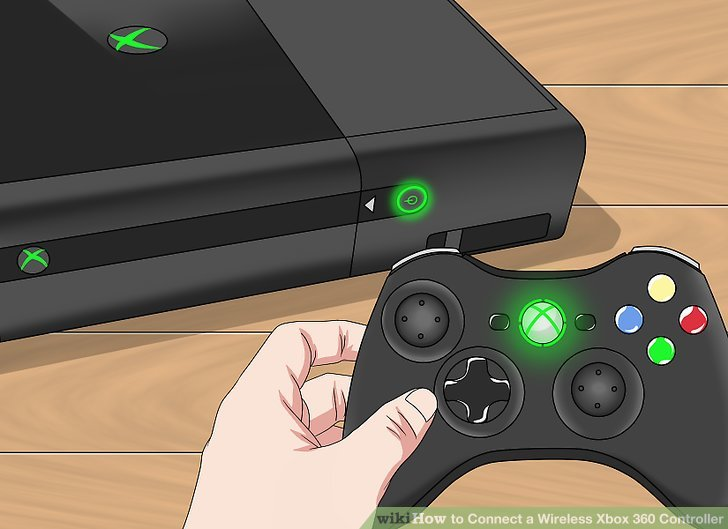 3 Ways To Connect A Wireless Xbox 360 Controller WikiHow