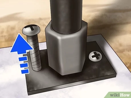 4 Ways To Repair A Wrought Iron Railing Wikihow   Rod Iron Railing For Steps   Artistic   Aluminum   Front Porch   Custom   Corner