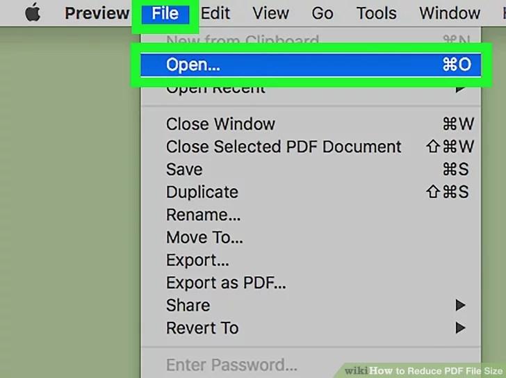 Preview Pdf di mac