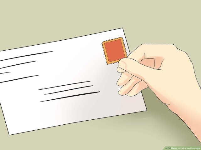 How to Label an Envelope: 24 Steps (with Pictures) - wikiHow