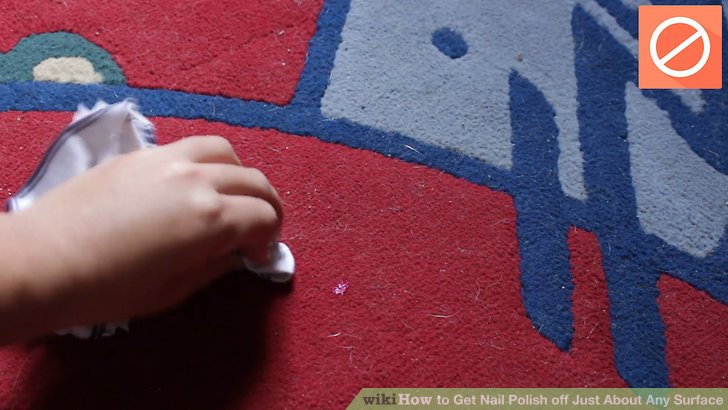 Removing Polish From Carpet Image Led Get Nail Off Just About Any Surface Step 10