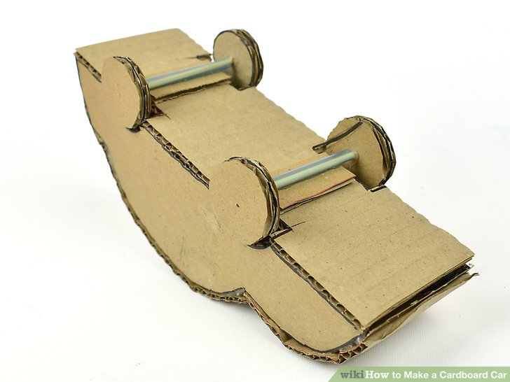 Cardboard Car Pattern Cut Outs