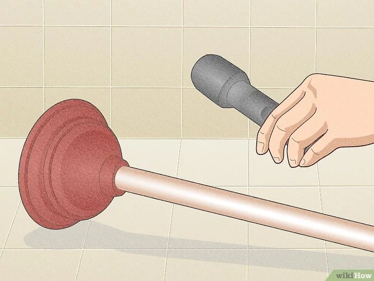 Imagem intitulada Unclog a Slow Running Bathroom Sink Drain Step 8