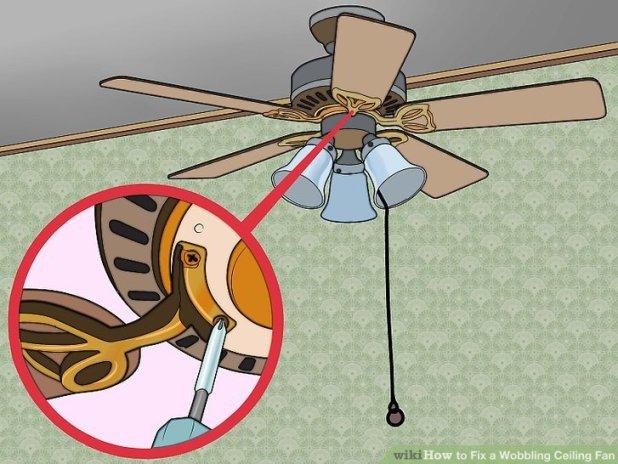 Ceiling fan wobble repair theteenline how to tighten wobbly ceiling fan www gradschoolfairs com aloadofball Gallery
