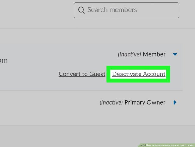 How to Delete a Slack Member on PC or Mac: 27 Steps (with Pictures)