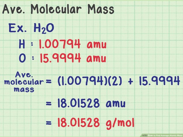 How to Find Average Atomic Mass: 5 Steps (with Pictures) - wikiHow