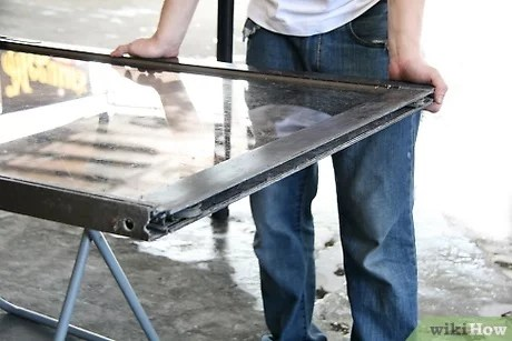 how to clean and lubricate a sliding