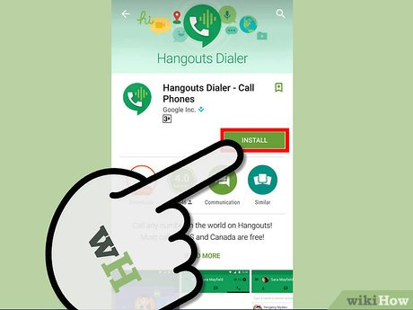 Image titled Make Free Calls on Android with Google Voice Step 1