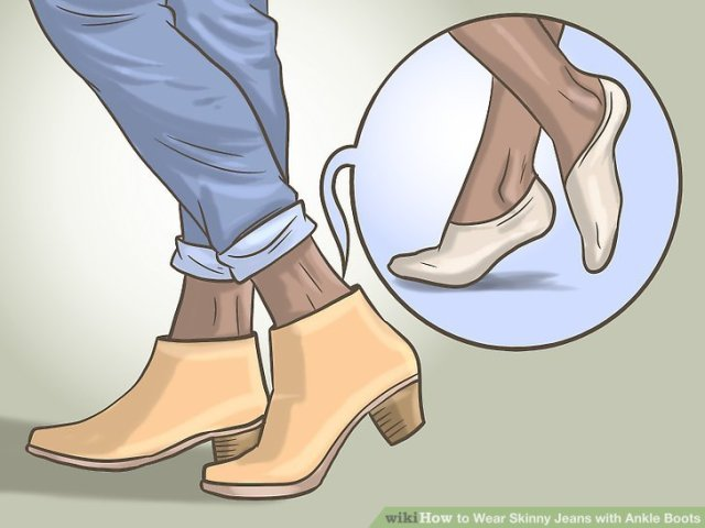 Wear Skinny Jeans with Ankle Boots Step 9.jpg