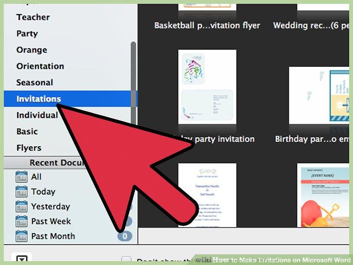 Image Led Make Invitations On Microsoft Word Step 3