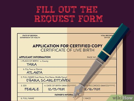 3 Ways To Obtain A Copy Of Your Birth Certificate In Georgia