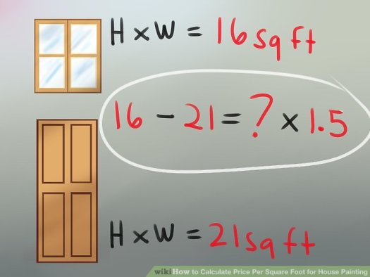 Image Titled Calculate Per Square Foot For House Painting Step 7
