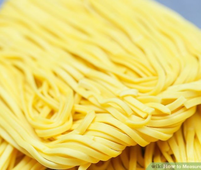Image Titled Measure Dry Pasta Step 8
