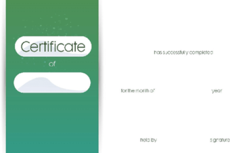 3 Ways to Make a Certificate   wikiHow Sample Contemporary Certificate