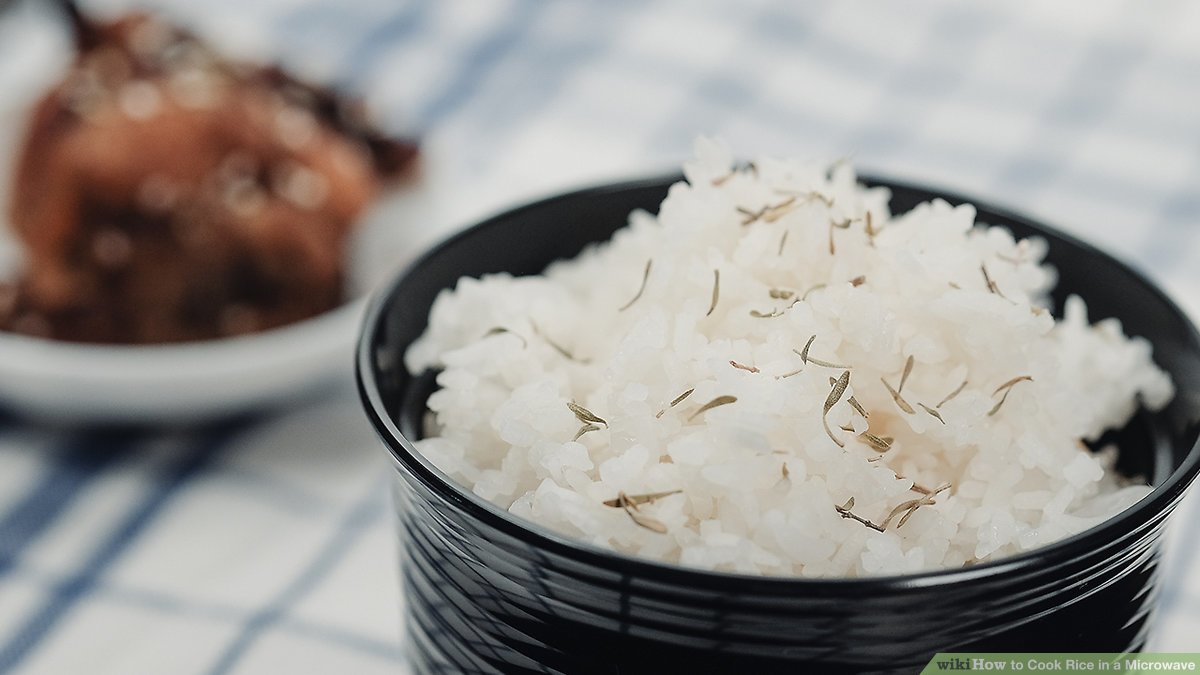 how to cook rice in a microwave 9