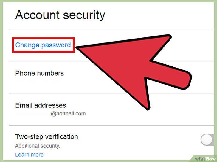 صورة عنوانها Change A Password in Yahoo! Mail Step 6