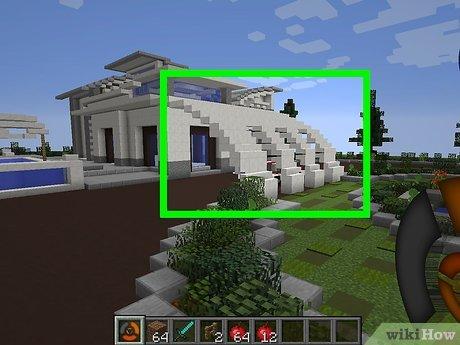 Comment Construire Une Maison Moderne Dans Minecraft