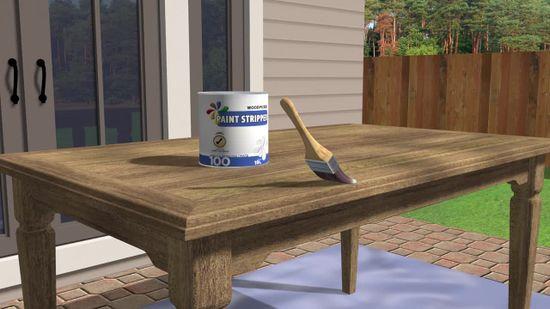 comment restaurer une table en bois 9