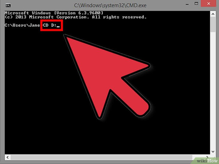 صورة عنوانها Change Directories in Command Prompt Step 3