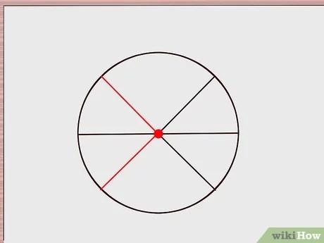 diviser un cercle en six parties
