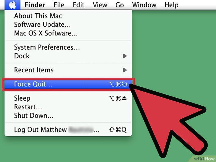 صورة عنوانها Force Quit an Application in Mac OS X Step 7