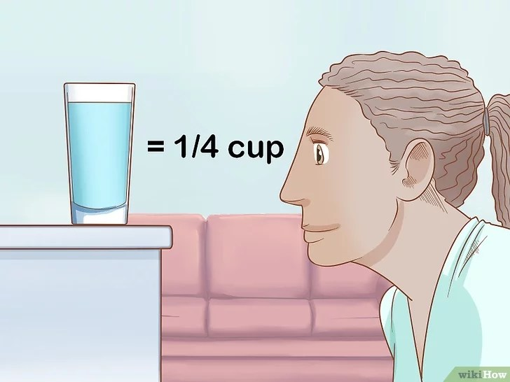 Immagine titolata Measure Liquids without a Measuring Cup Step 4