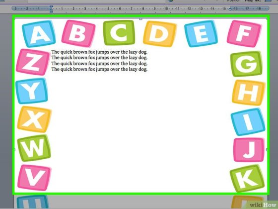 Added Border to Word Step 22