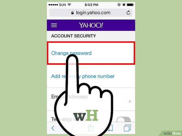 صورة عنوانها Change A Password in Yahoo! Mail Step 13