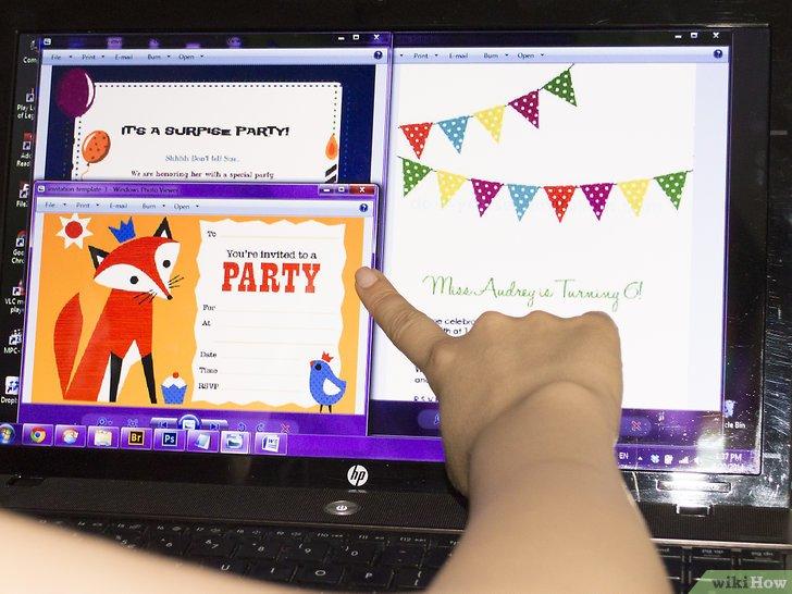 Cara Membuat Undangan Pesta Ulang Tahun Sendiri Wikihow