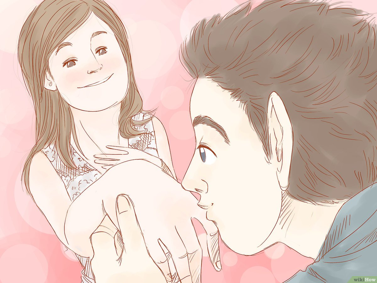 comment embrasser avec images wikihow