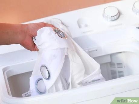 comment laver les voilages avec images