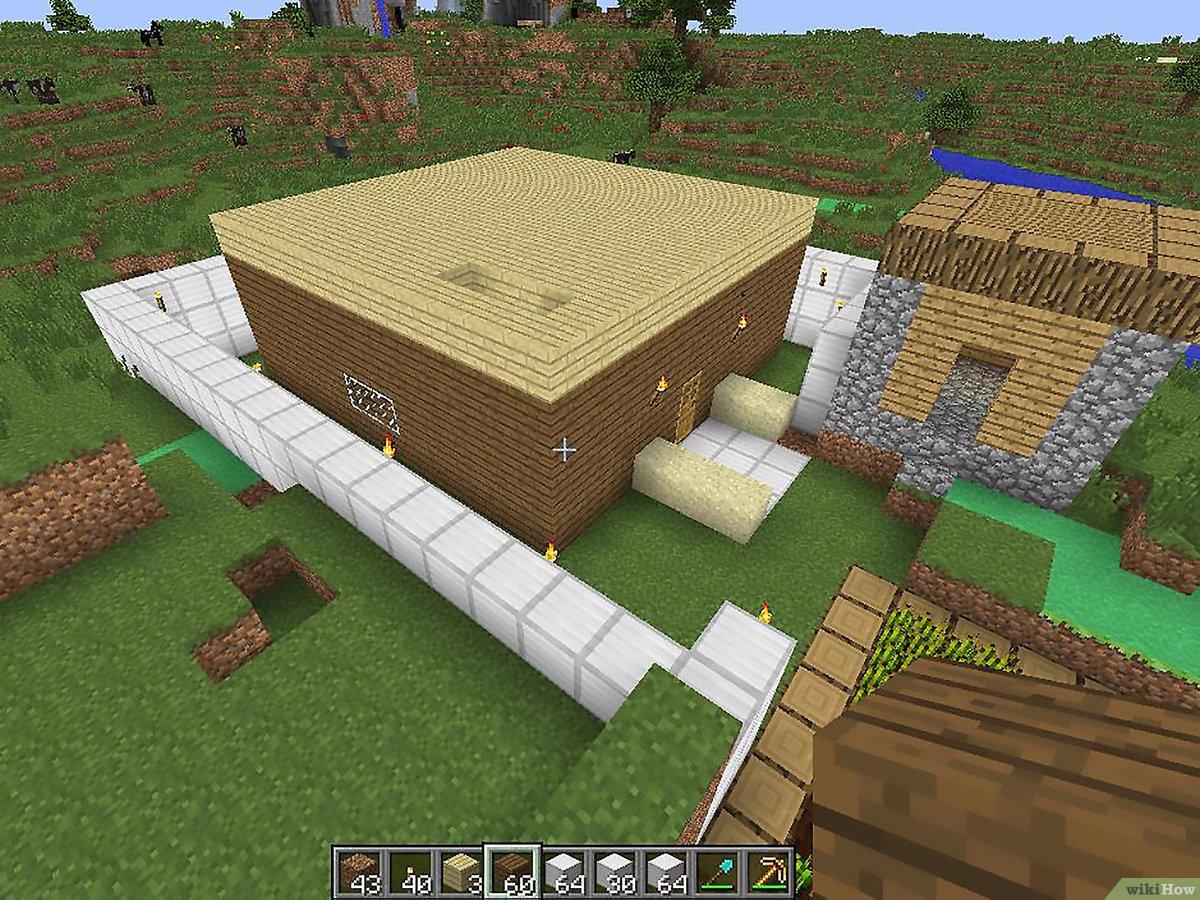 Comment Construire Une Maison Dans Minecraft