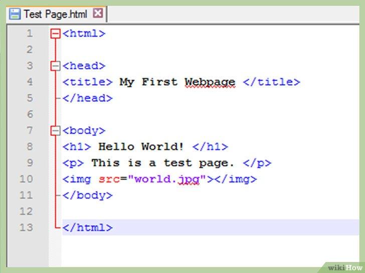 Come Creare Una Semplice Pagina Web Con HTML WikiHow