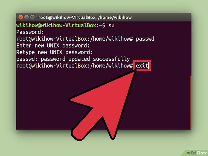 صورة عنوانها Change the Root Password in Linux Step 7