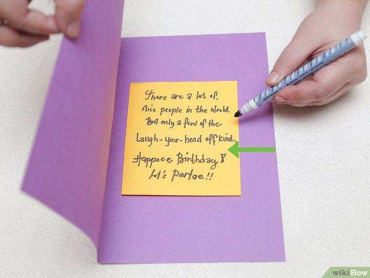 Cara Membuat Kartu Ulang Tahun Sederhana Wikihow